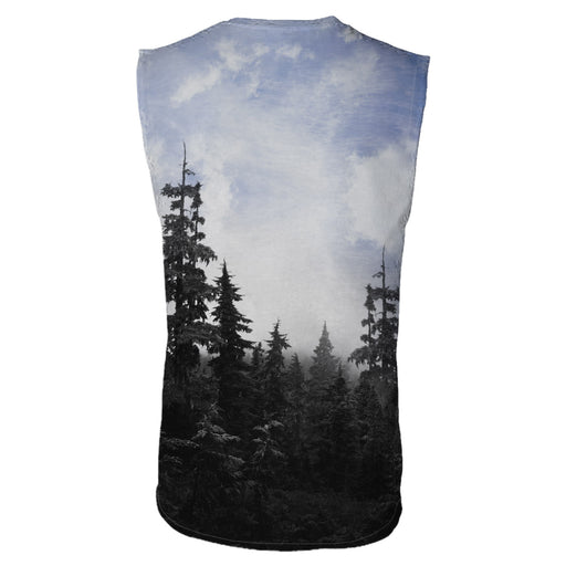 Chilly Morning Unisex Sleeveless T-Shirt