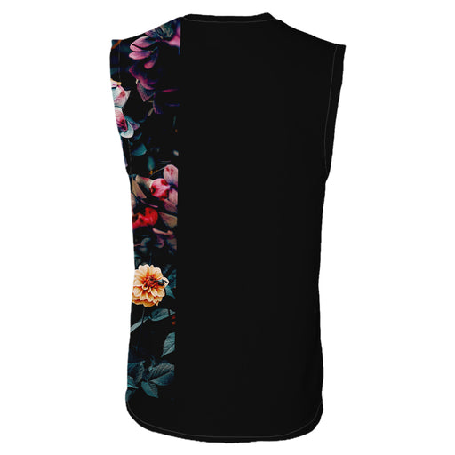 Vintage Flowers Sleeveless T-Shirt