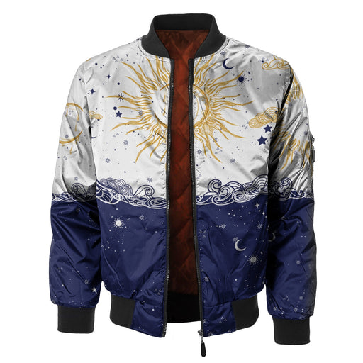 Sun and Moon Bomber Jacket