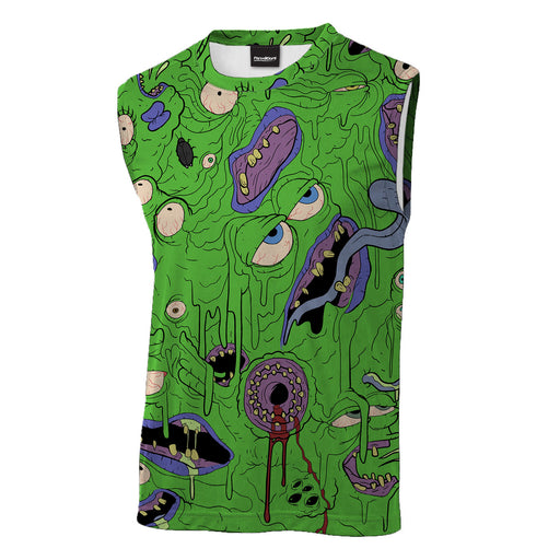 Melted Frog Sleeveless T-Shirt