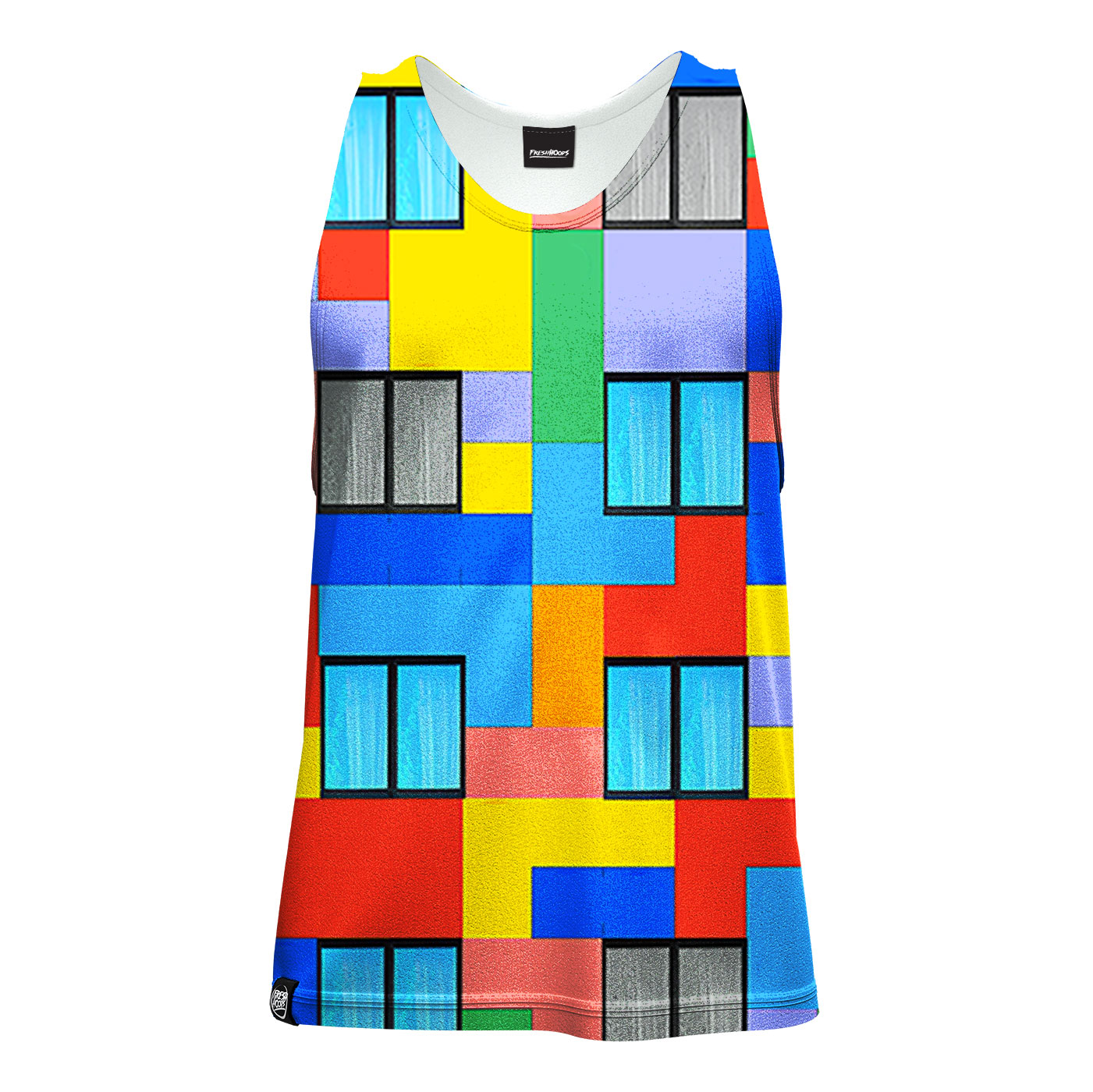 Blocks Tank Top