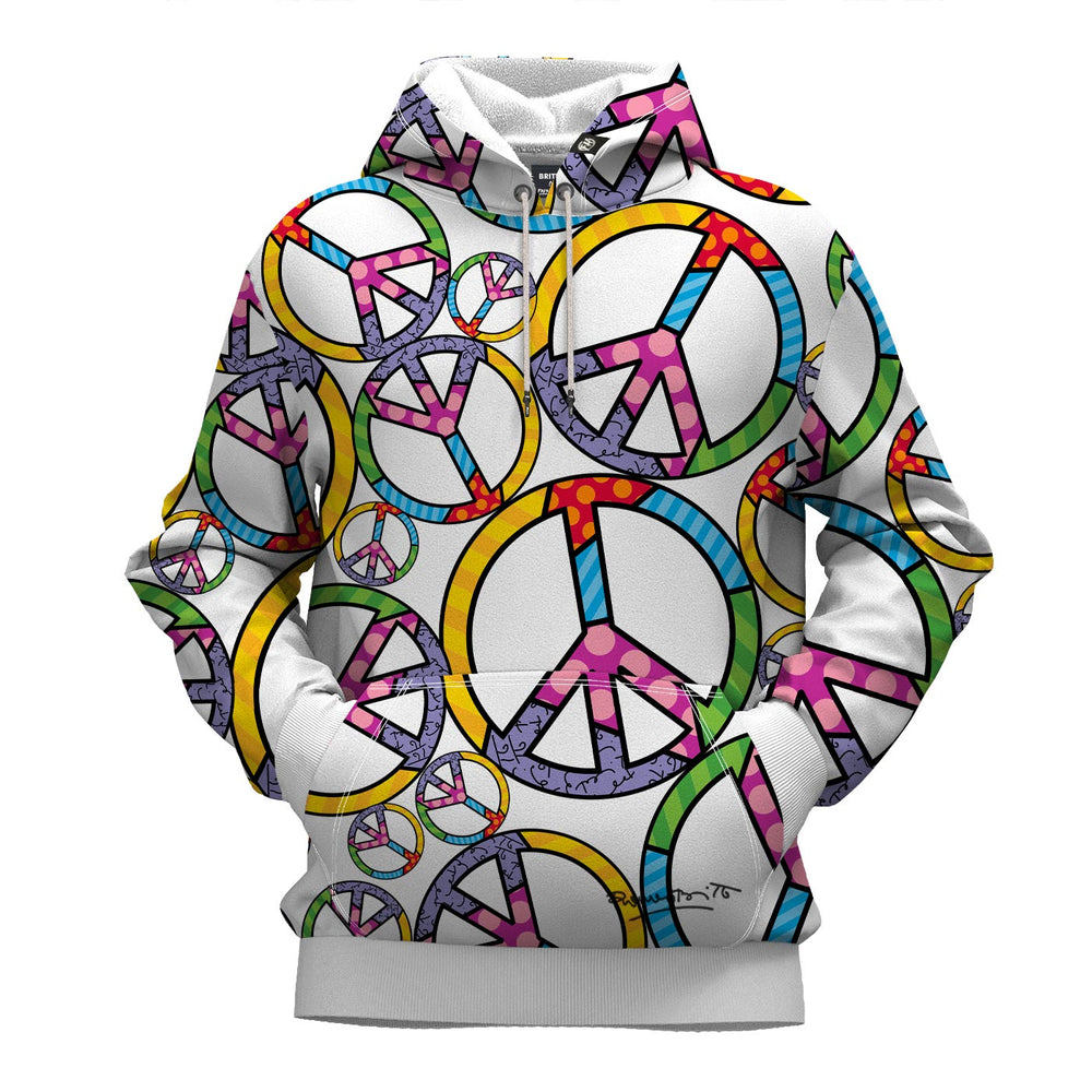 Love And Peace Hoodie By Britto™