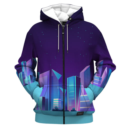 Midnight City Zip Up Hoodie