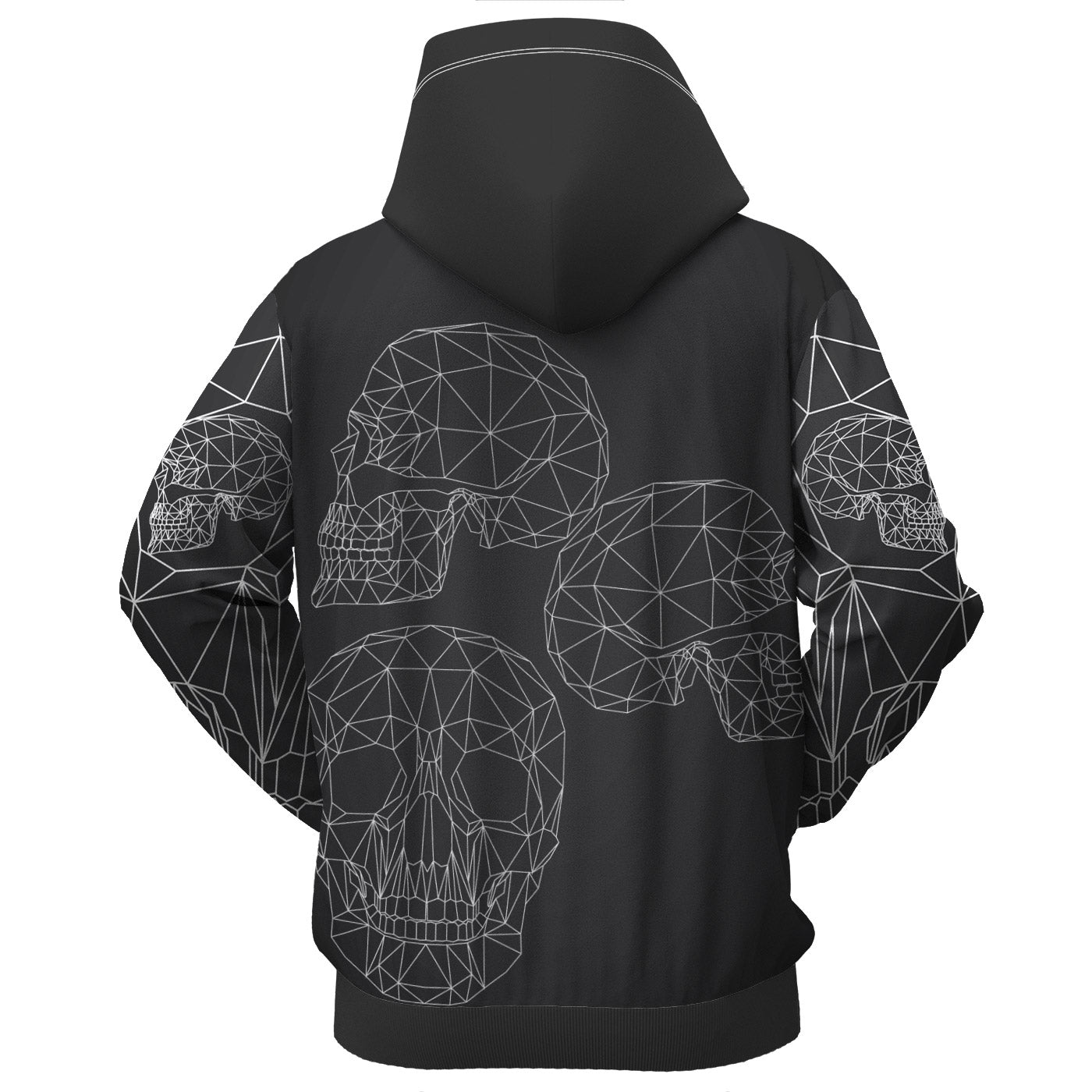 Black Dream Zip Up Hoodie