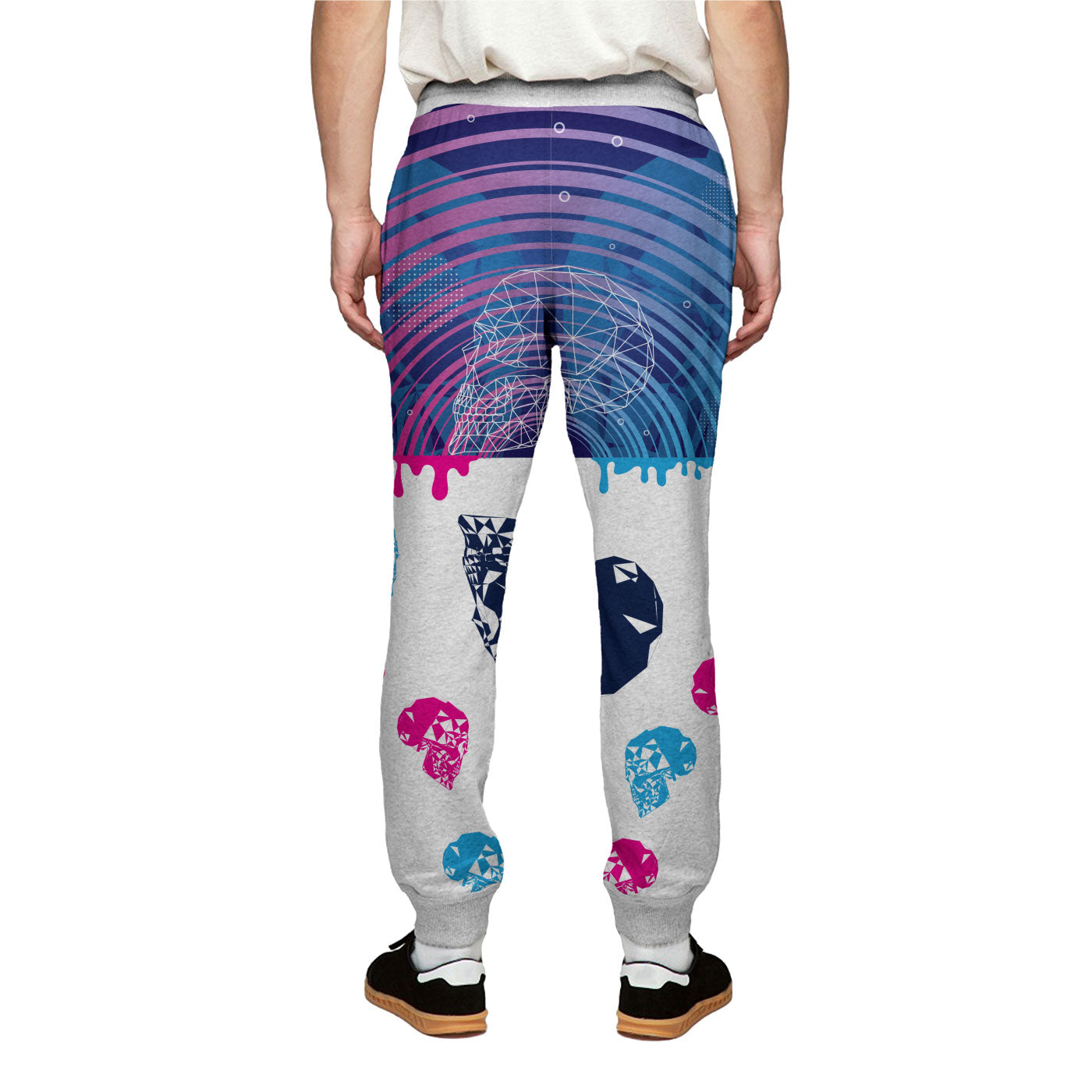 Dual Skull Sweatpants