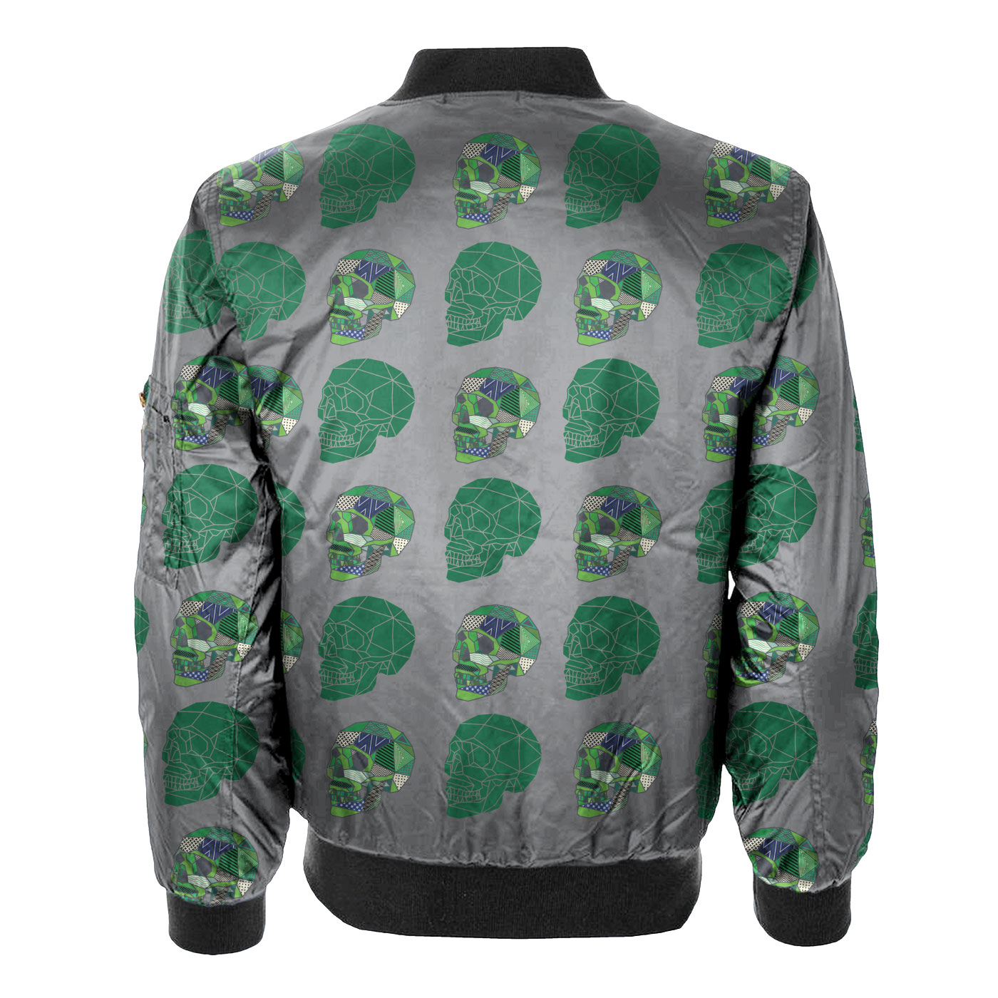Green Dazzle Bomber Jacket