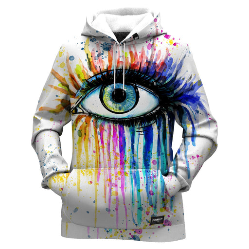 Watercolor Eye Women Hoodie