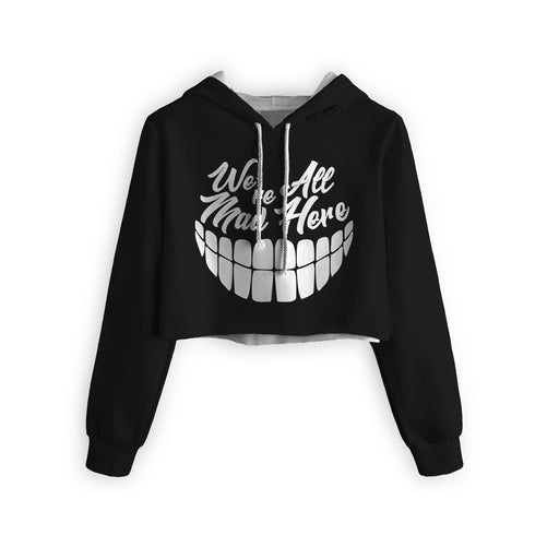 Madness Cropped Hoodie