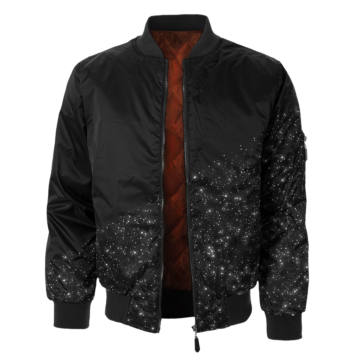 Space Clean Bomber Jacket