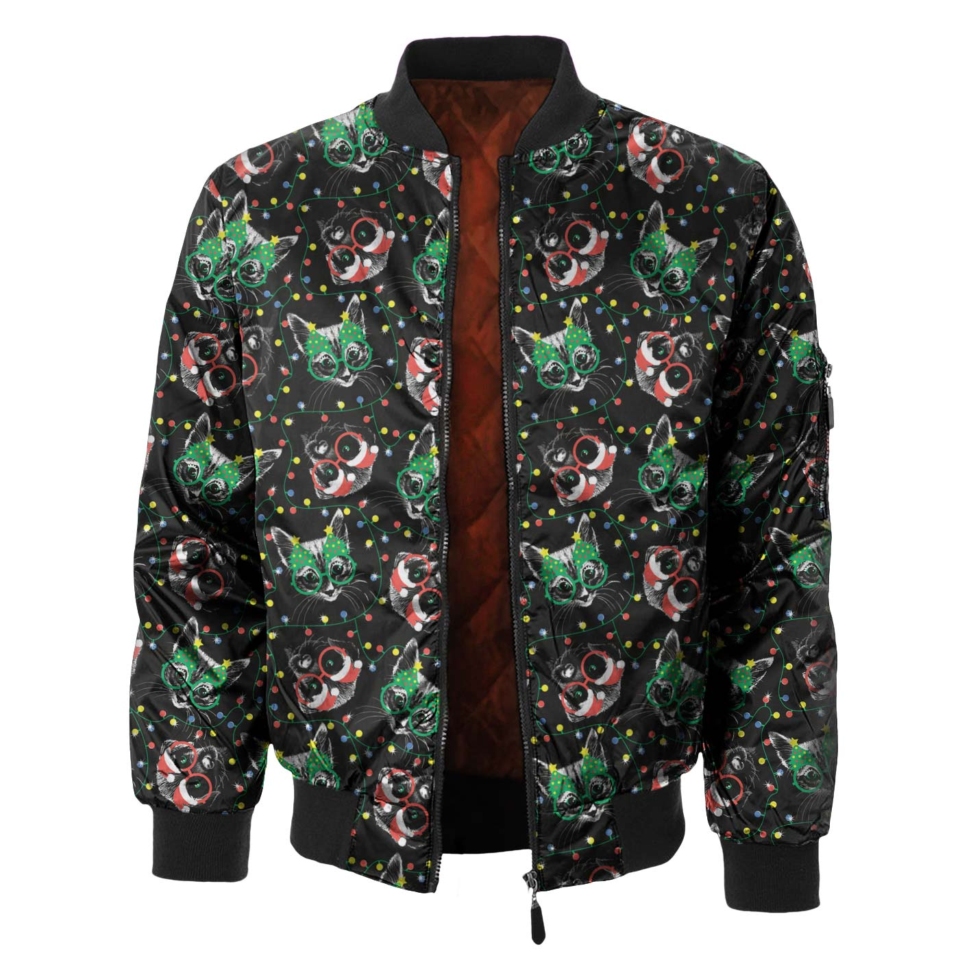 Black Cat Bomber Jacket