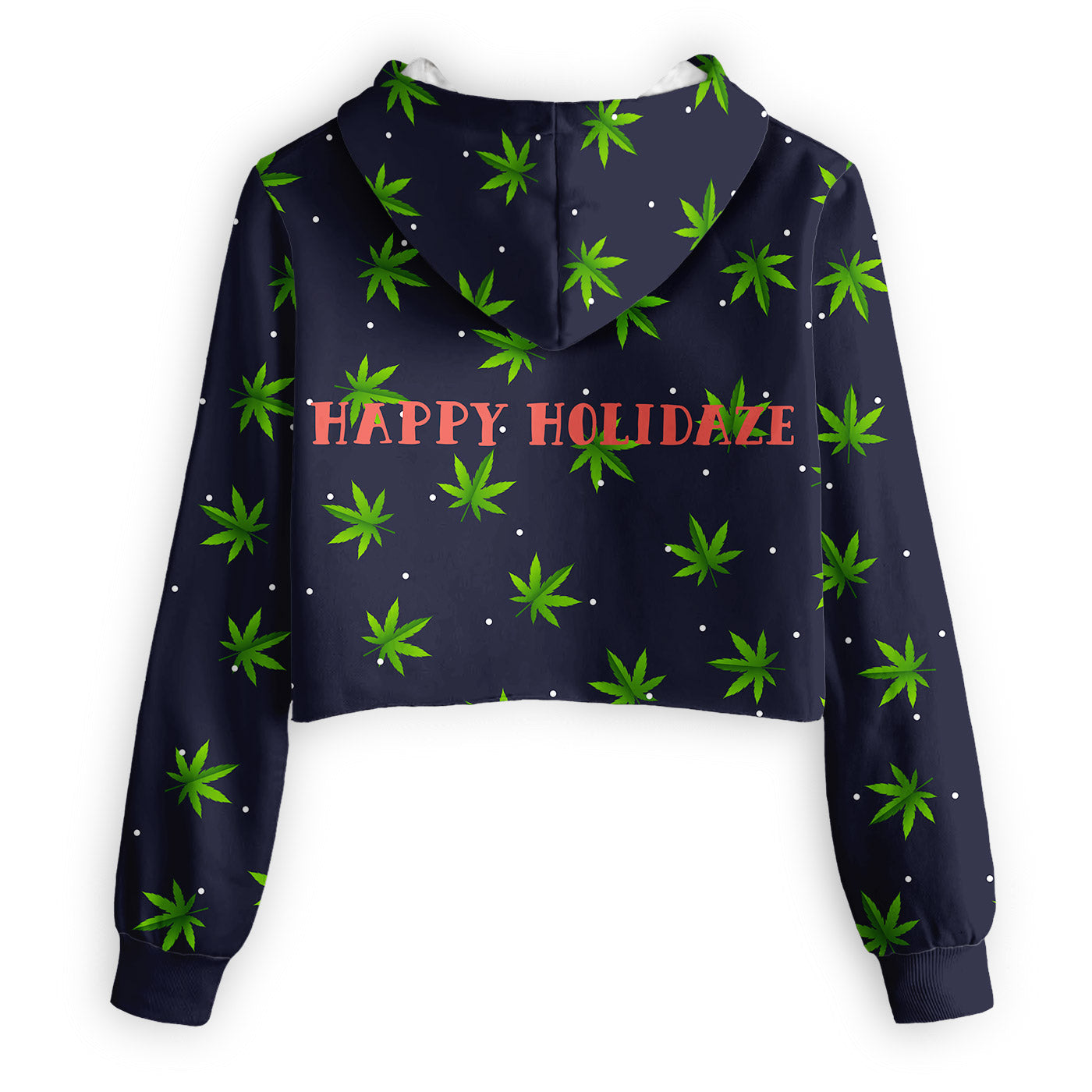 HoliDaze Cropped Hoodie