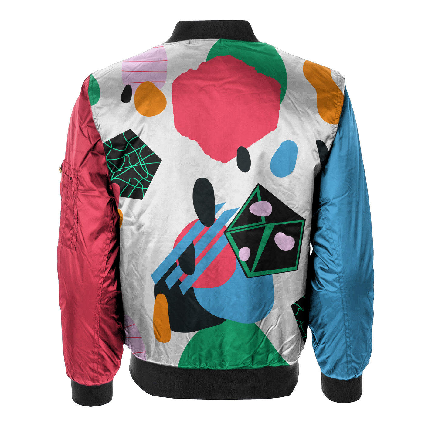 Abstract View Bomber Jacket