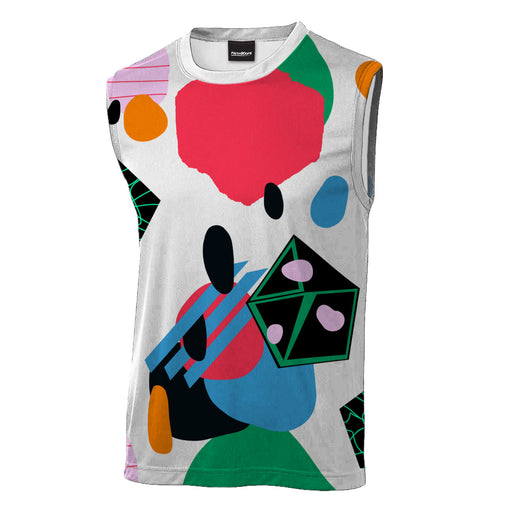 Abstract View Sleeveless T-Shirt