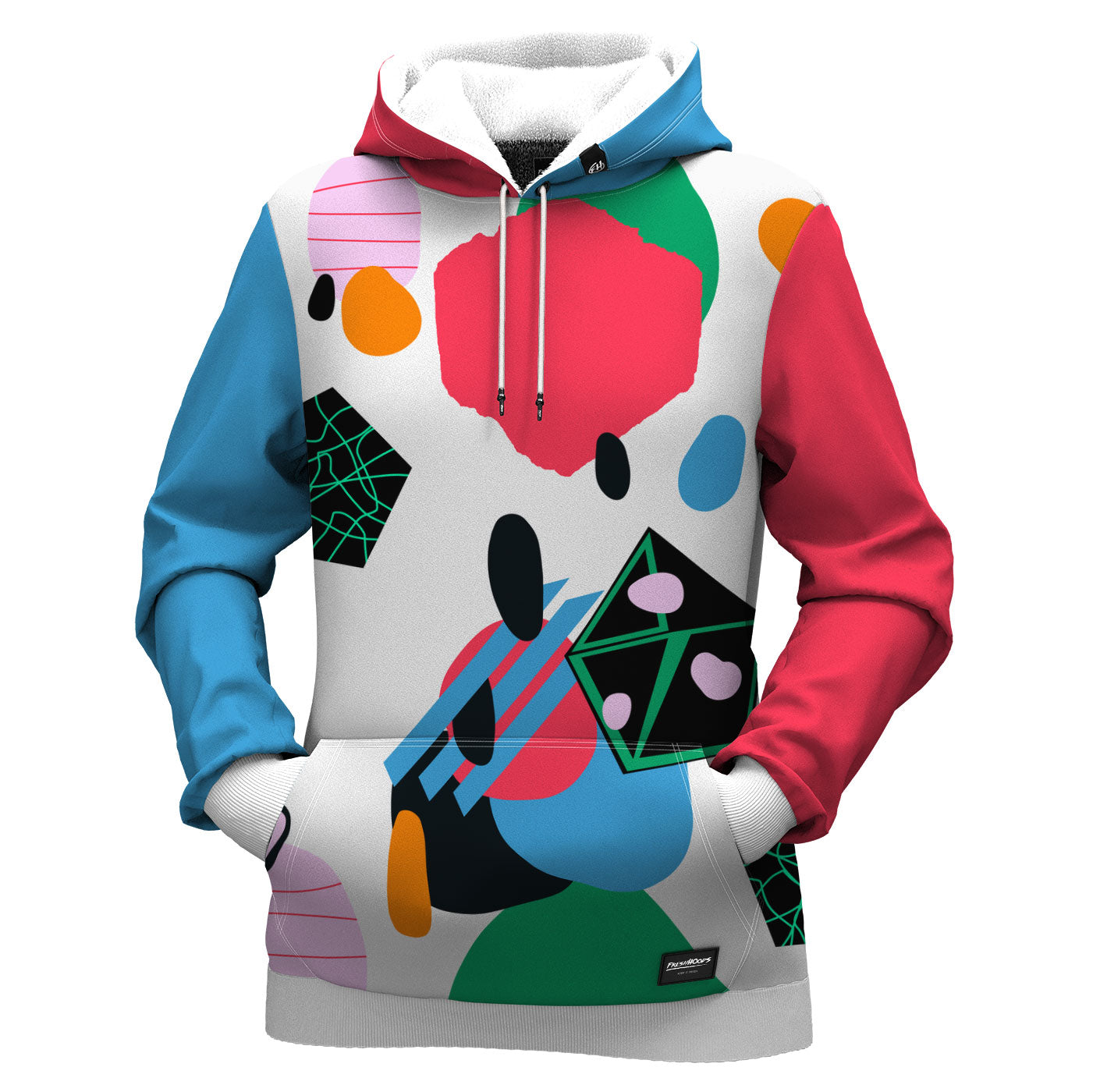 Abstract View Women Hoodie