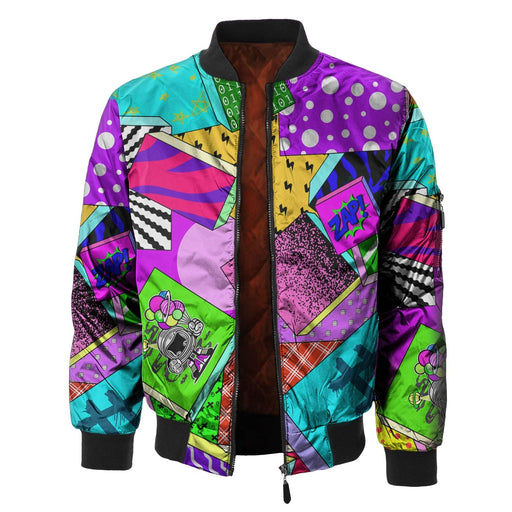 Zap Attack Bomber Jacket