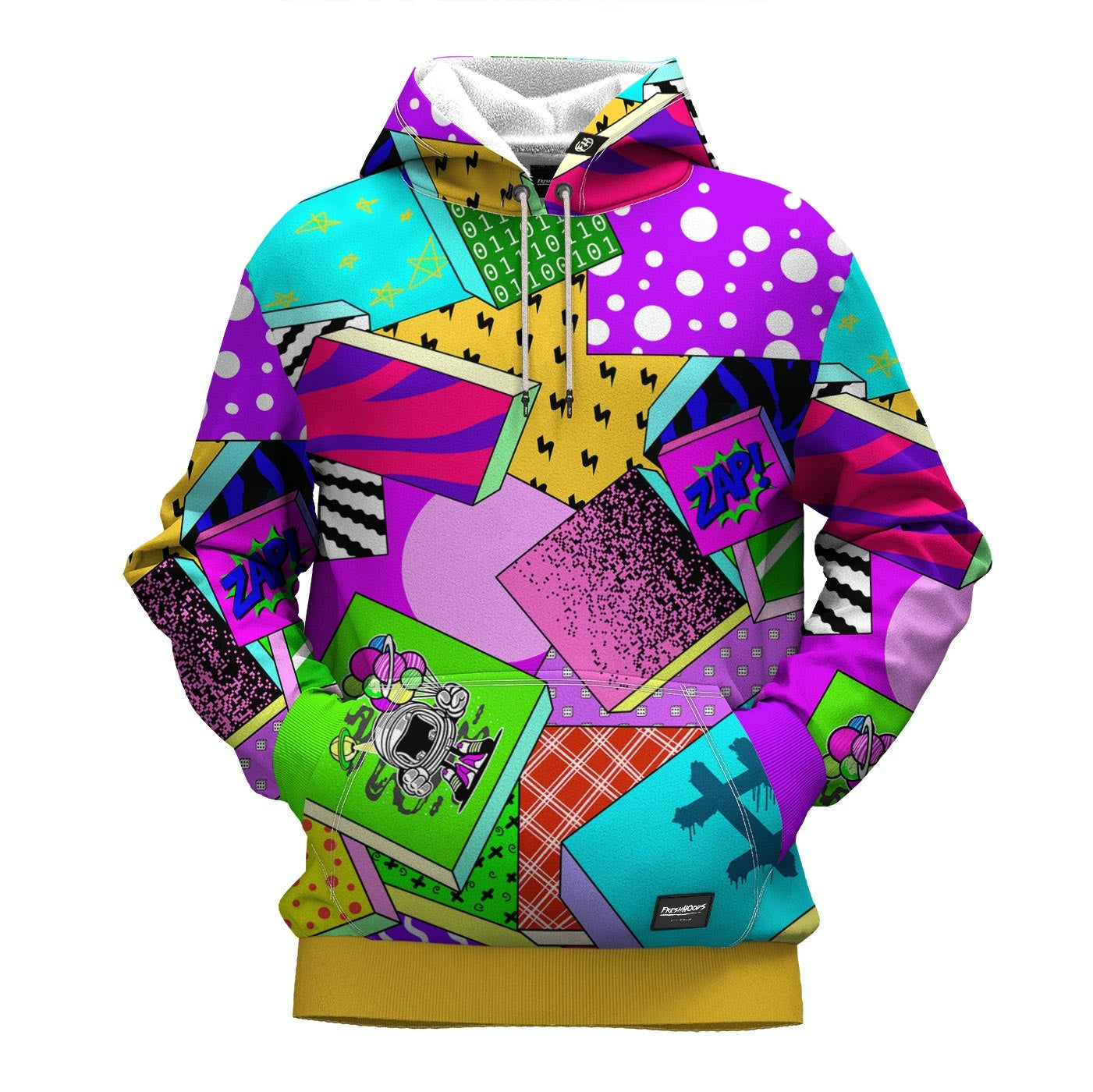 Zap Attack Hoodie