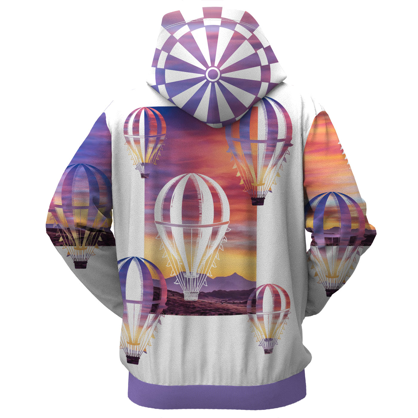 Balloon Wonderland Zip Up Hoodie