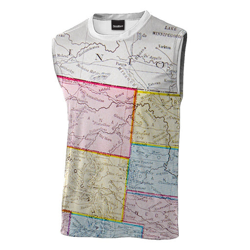 Colonialism Sleeveless T-Shirt