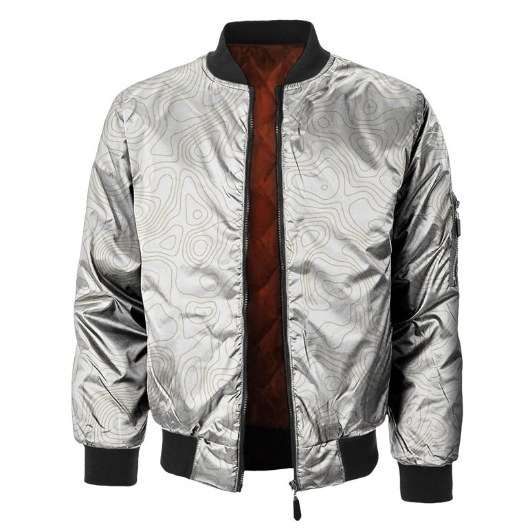 Geological Compass Bomber Jacket