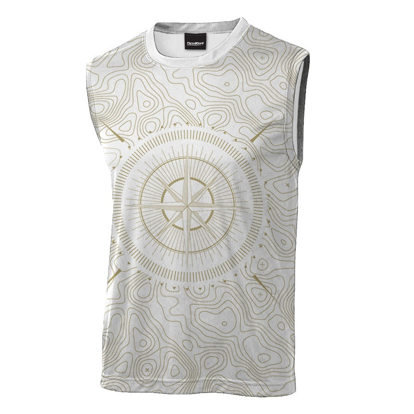 Geological Compass Sleeveless T-Shirt