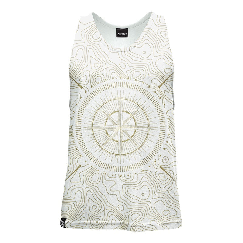 Geological Compass Tank Top