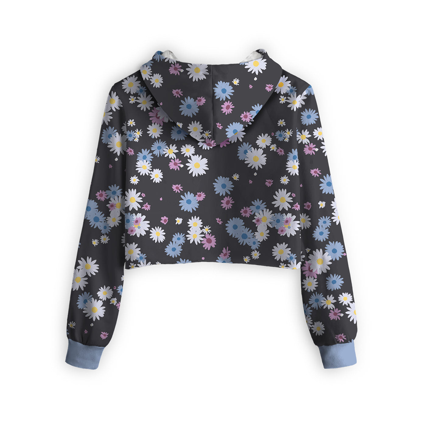 Daisy Heap Cropped Hoodie