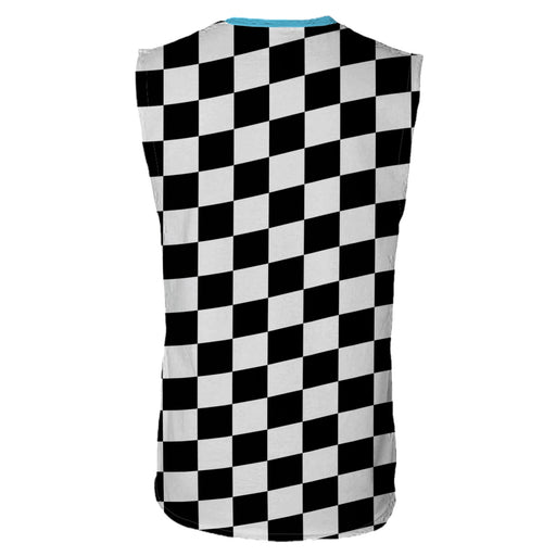 Checkered Jinx Sleeveless T-Shirt