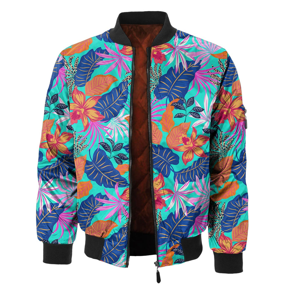 Narcissus In Vivid Bomber Jacket