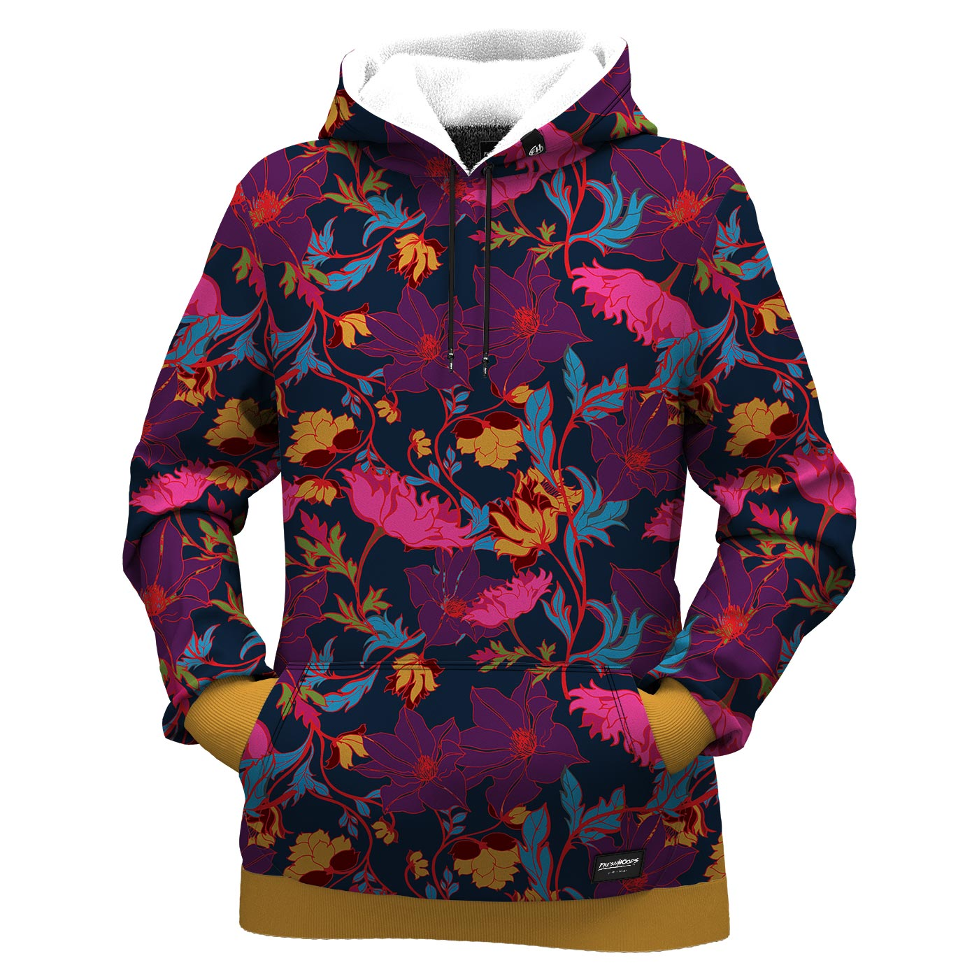 Fairy Tale Night Floral Women Hoodie