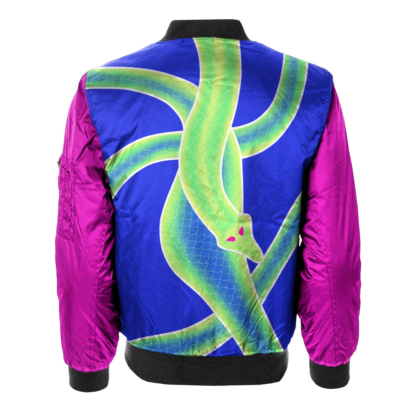 Snakes Start To Sing Bomber Jacket
