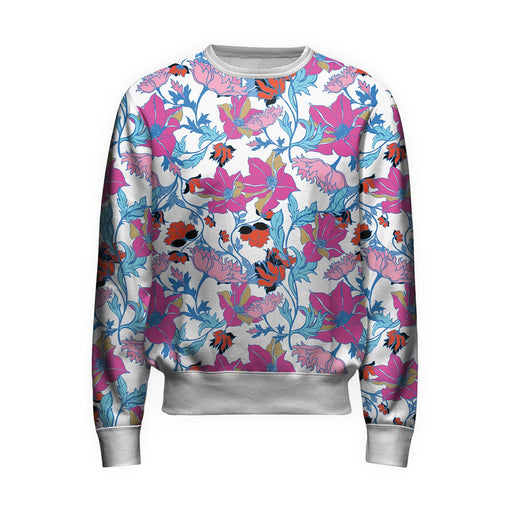 Fairy Tale Morning Floral Sweatshirt