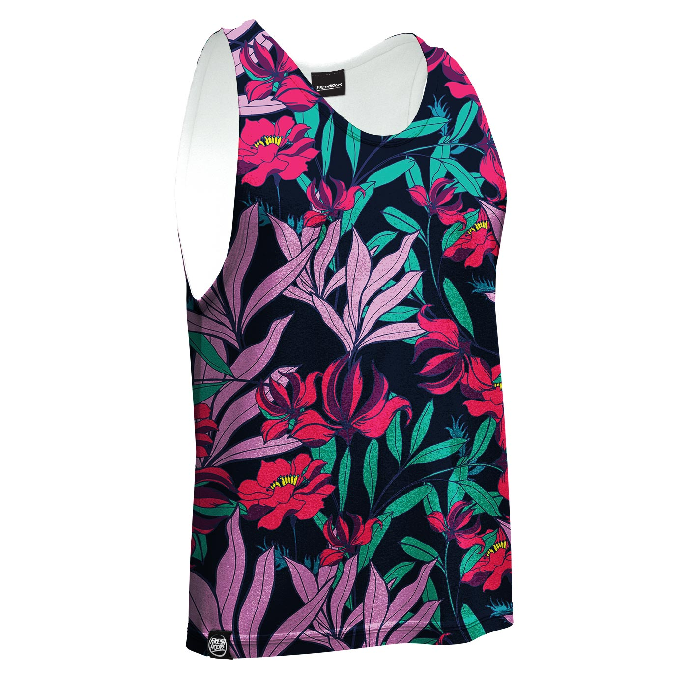 Bright Night Blossom Tank Top