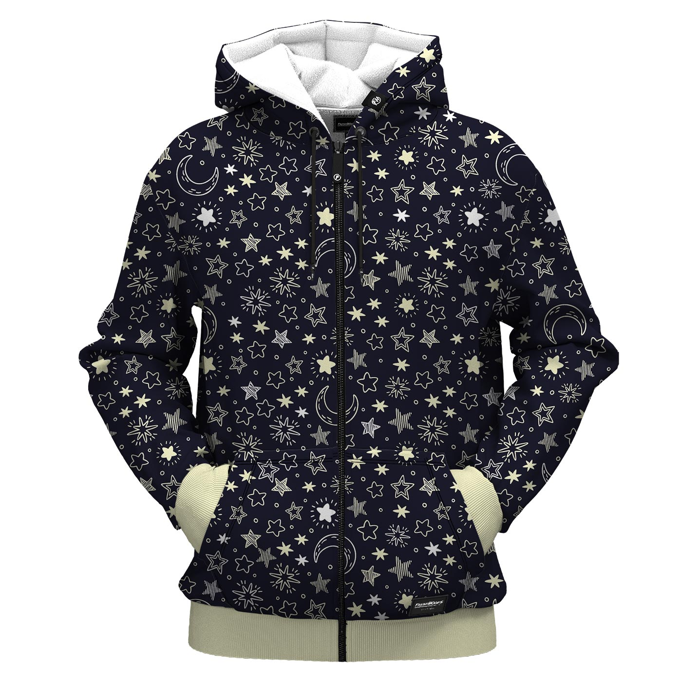 Mini Star Zip Up Hoodie