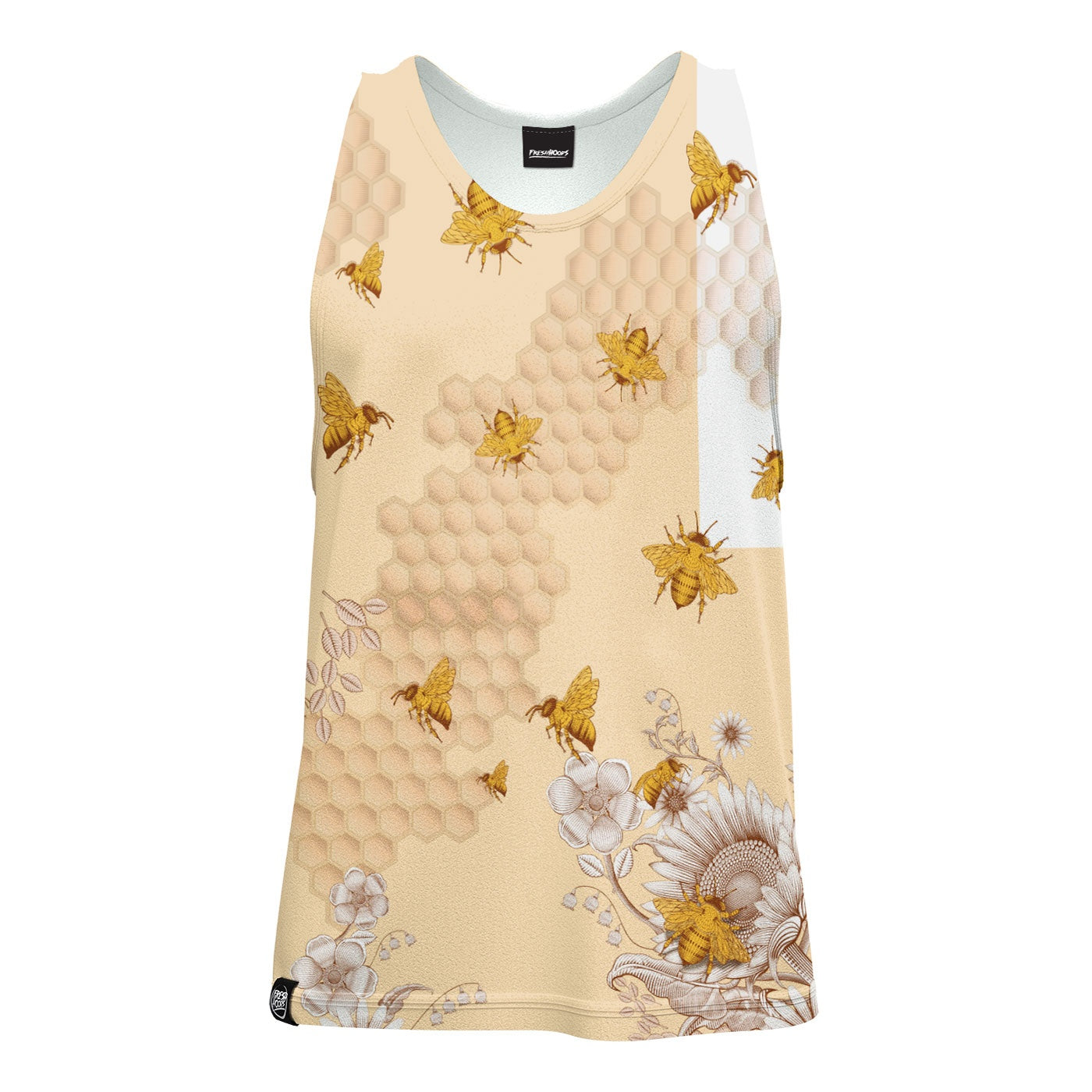Sunflower Bee Tank Top