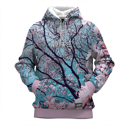 Cherry Blossom 3D Embroidered Hoodie