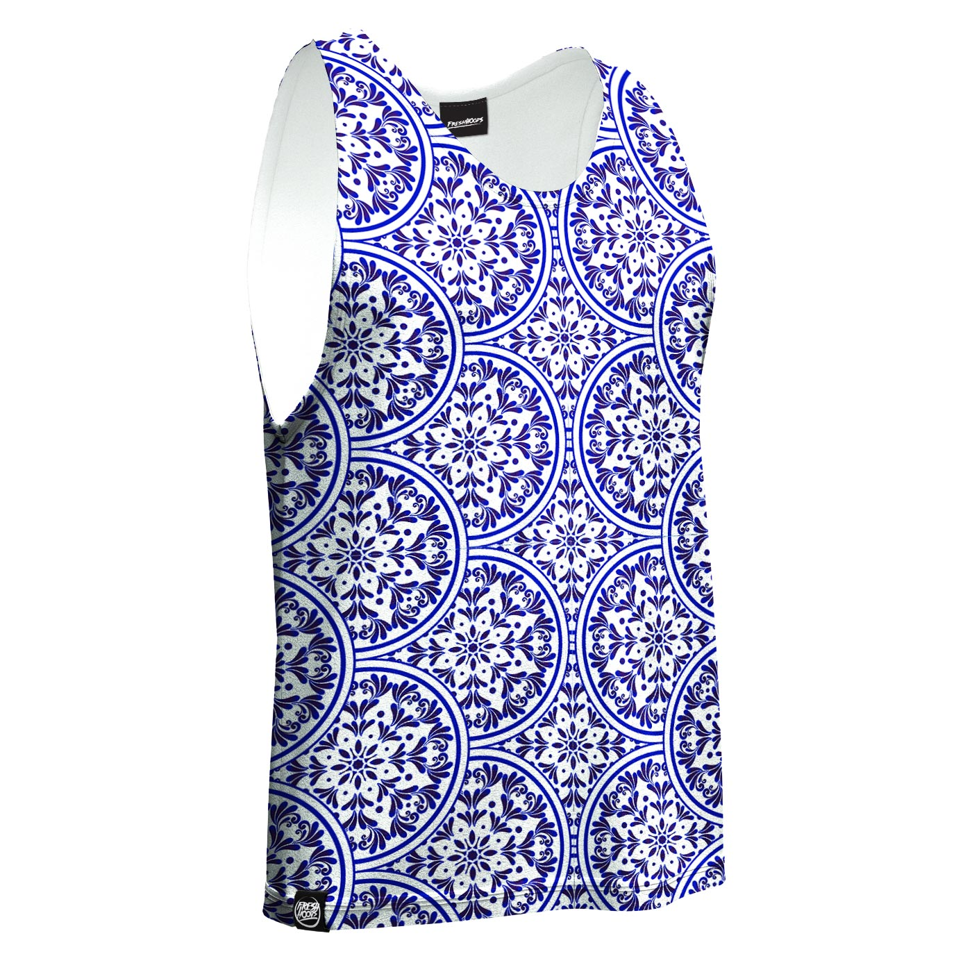 Floral Plates Tank Top