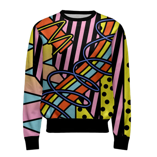 Deconstructive Geometry Sweatshirt