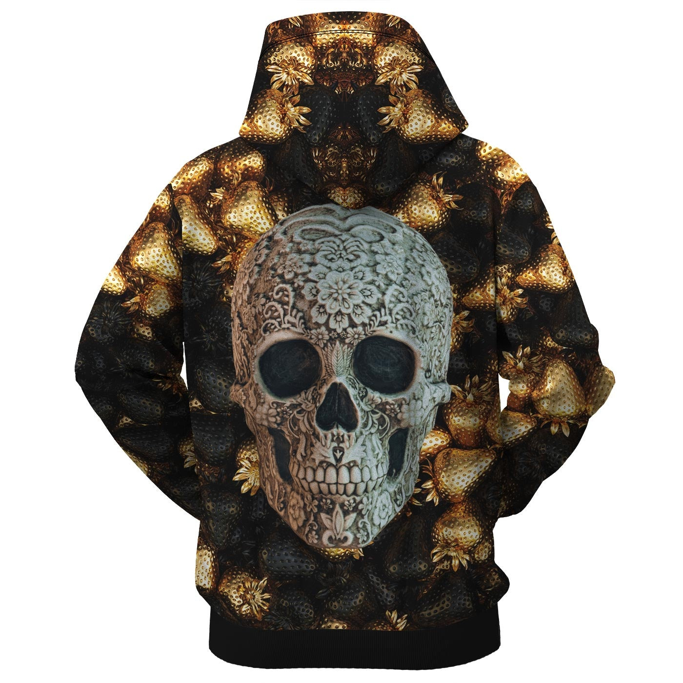 Golden Treasure Zip Up Hoodie