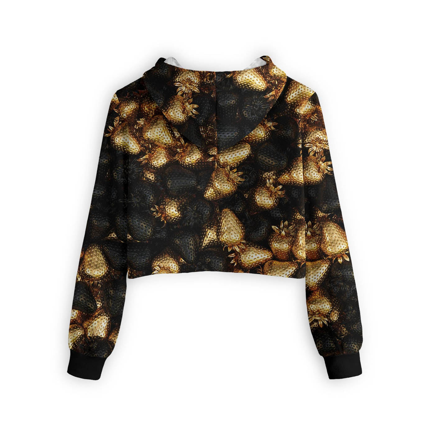 Golden Treasure Cropped Hoodie