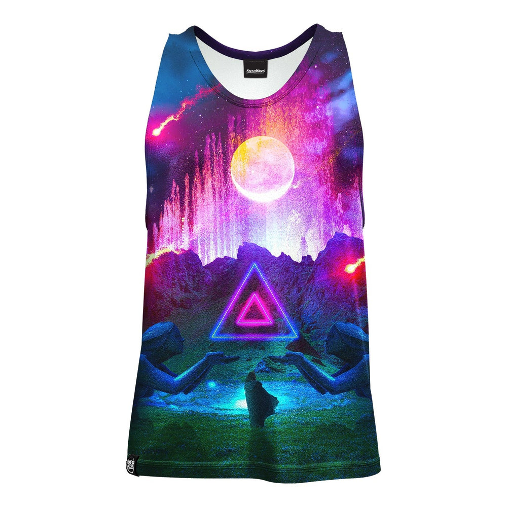 Neon Night Tank Top