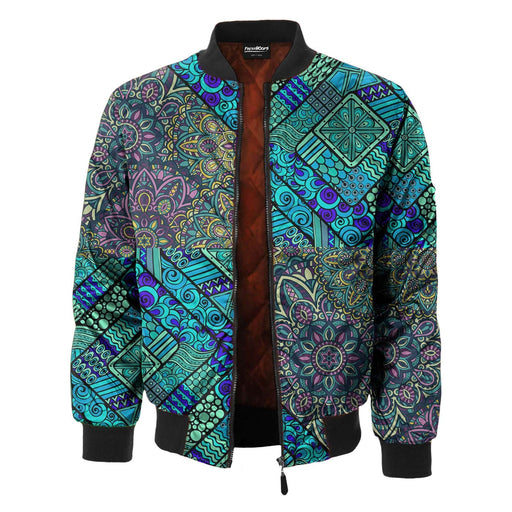 Underwater Path Bomber Jacket
