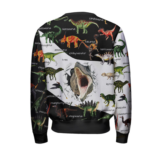 Dino Map Sweatshirt