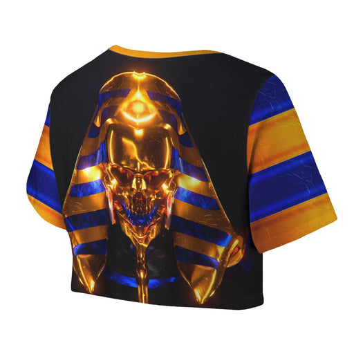 Golden Skull Crop Top