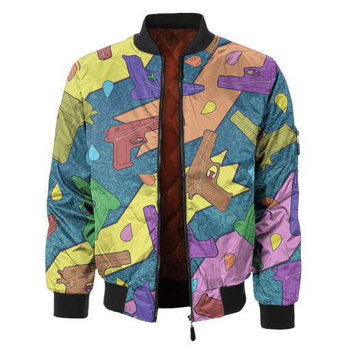 Water Guns Bomber Jacket