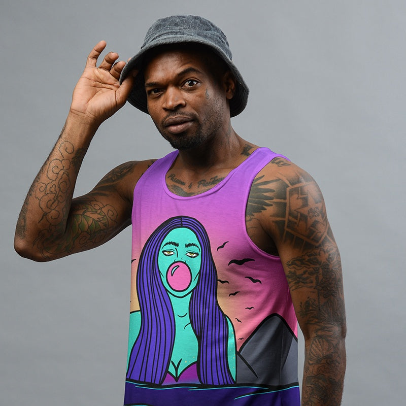 Bubble Gum Tank Top