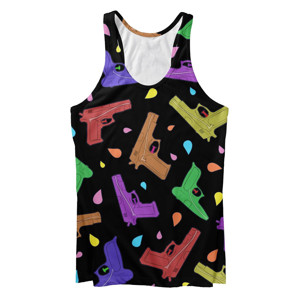 Splash Guns Tank Top