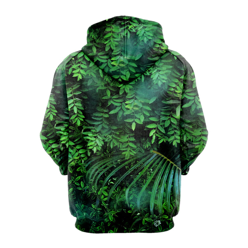 Herbal Skull Bright Hoodie
