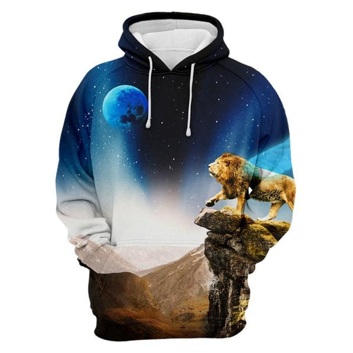 Lonely Lion Hoodie