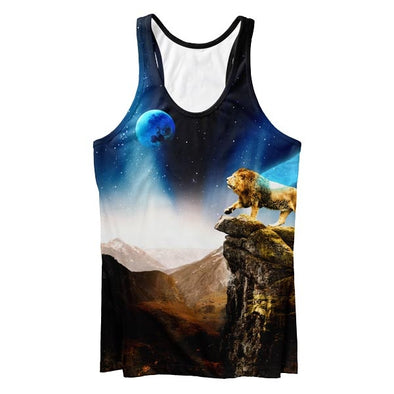 Lonely Lion Tank Top