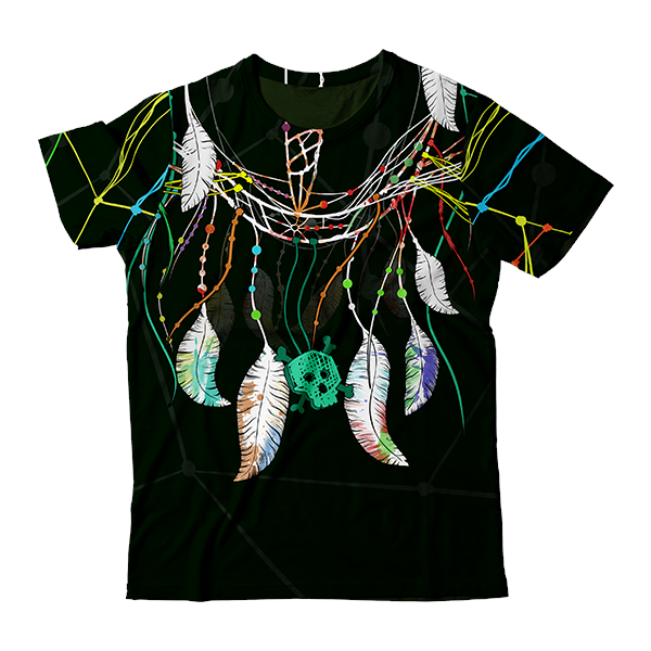 Sacral Feathers T-Shirt